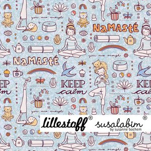 Lillestoff - Yoga CANVAS €24 p/m GOTS