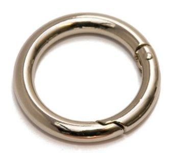 Metaal Zilver O-ring 25mm