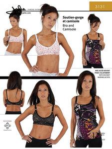 Jalie 3131 Bra & Camisole GIRLS & WOMEN €15