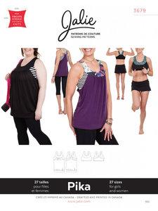 Jalie 3679 Pika sport bra and tank GIRLS-WOMEN €15