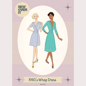 Sew Over It - 1940's Wrap dress Dress €15