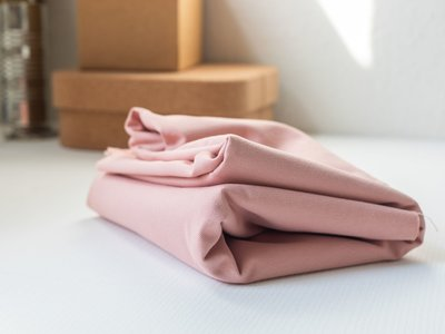 mindtheMAKER - washed COTTON TWILL rose 9oz €19,90 p/m