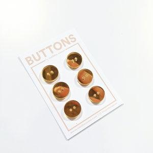 Tabitha Sewer - Gold mirror 15mm €9,50 p/set