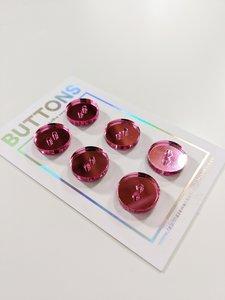 Tabitha Sewer - Pink mirror 15mm €9,50 p/set