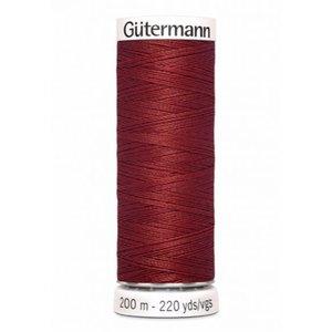 Gutermann 221 roestrood  - 200m