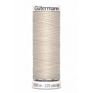 Gutermann 299 creme - 200m
