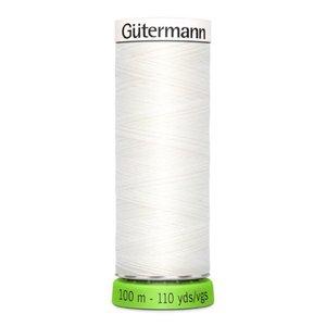 Gutermann rPET 800 wit - 100m