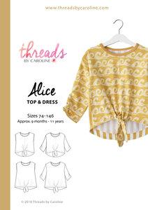 Threads by Caroline ALICE TOP&DRESS mt74-146 €16