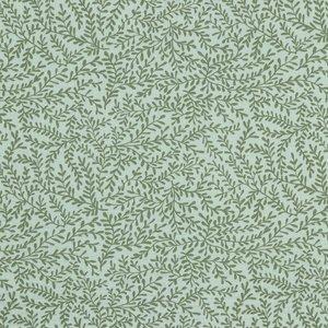 Verhees GOTS  - LEAFS MINT - Double Gauze/hydrofiel €9,90 p/m (GOTS)