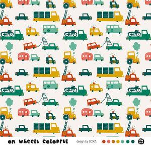 Lillestoff - On wheels SUMMERSWEAT €21,80 p/m GOTS