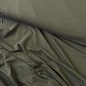 WISJ Dark green Lyocell stretch jersey €12,90 p/m