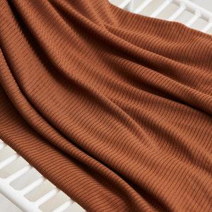 meetMilk - PECAN Derby Ribbed Jersey TENCEL™ Modal vezels €22,50 p/m