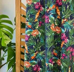 Atelier Jupe - Tropical parrot COTTON-STRETCH €26,5 p/m