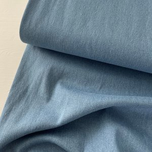 VERHEES Recycled Denim / Jeansstof LIGHT BLUE STRETCH - €12,90
