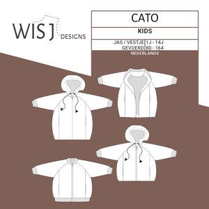 WISJ - Cato vest/bomber/midi jas €12