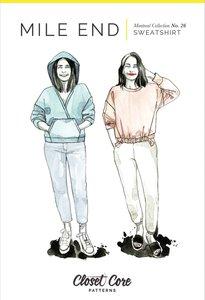 Closet Core Patterns - Mile End Sweatshirt  €19,95