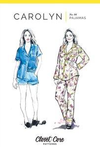 Closet Core Patterns - Carolyn Pyjamas €19,95