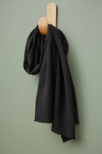 meetMilk - Hoya BLACK Jacquard-linnen met TENCEL™ Lyocell vezels €31,50 p/m