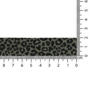 Oaki Doki tricot biais luipaard  kies je kleur €2,90 p/s