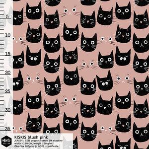 Mieli Design - Kiskis blush pink  €25,50 p/m FRENCH TERRY (organic)