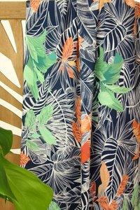Atelier Jupe - Dark blue tropical VISCOSE € 24,50 p/m
