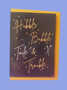 Sew Anonymous -  Kaart Hubble,Bubble, Toile & Trouble €3,50 p/s