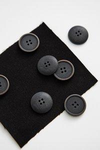 Mind the MAKER 20mm BLACK BLAZE COROZO €1,30 p/s