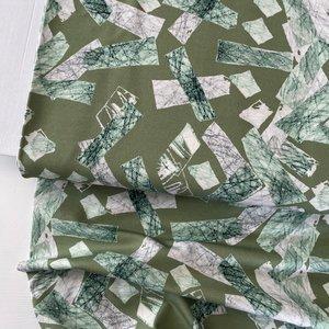 Mereen - Blocks olive €24,90 p/m jersey (organic)