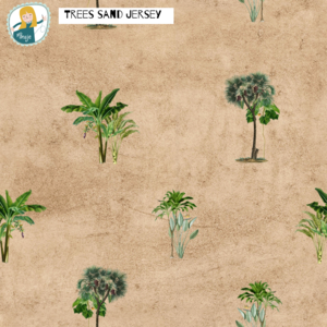 Ansje Handmade - TREES SAND JERSEY €23,50 p/m