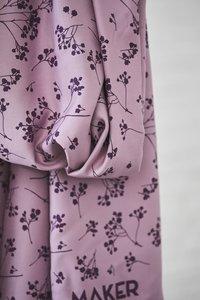 mindtheMAKER - Stalks Lilac 100%LENZING™ECOVERO™ Viscose €19,50 p/m