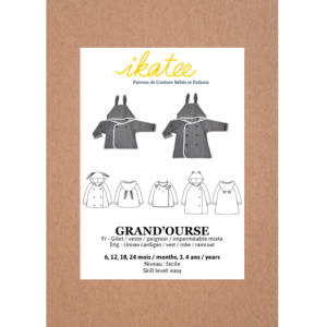 Ikatee - Grand'ourse Cardigan - Baby 6m - 4 jaar