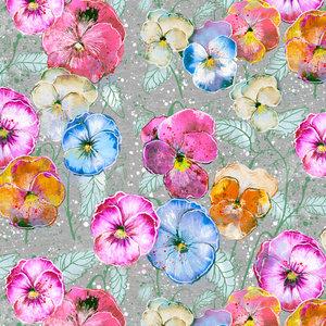 Lillestoff - Flowers  JERSEY €21,30 p/m GOTS