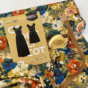 Sew All In - Deer&Doe Coquelicot dress VIEWA