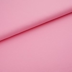 Stoffonkel Solid princess pink JERSEY - €16,80 p/m GOTS
