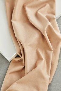 meetMilk - Stretch Jersey - Warm Sand met TENCEL™ Lyocell vezels €21,50 p/m
