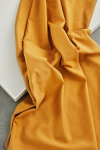 meetMilk - Stretch Jersey - Mustard met TENCEL™ Lyocell  vezels €21,50 p/m