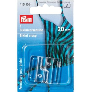 Prym Bikinisluiting plastic 20mm  €3,30 p/set