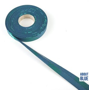 About blue french terry biais  tape leaf € 2 p/m