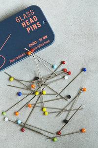 SEWPLY - Glass head pins 32mm
