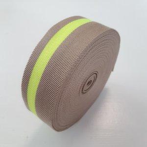 Tassenband BEIGE-FLUO 35mm €3,80 p/m