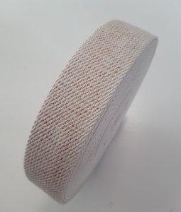 Tassenband ECRU - BRONZE LUREX 40mm €4,50 p/m