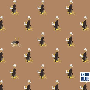 About Blue Never Grow Up - Zoo on wheels FRENCH TERRY 25,90 p/m