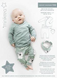 Minikrea Baby overslagset 0-2 jaar 11430