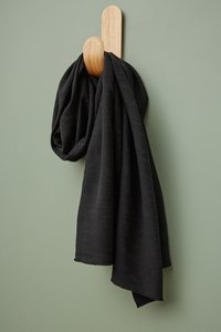 COUPON 170 CM meetMilk - Hoya BLACK Jacquard-linnen met TENCEL™ Lyocell vezels €31,50 p/m