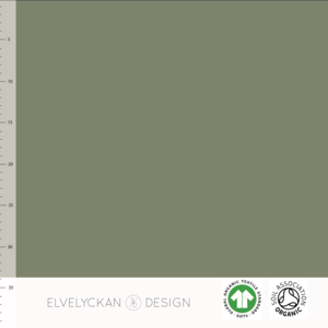 Elvelyckan  - Green 033 RIBBED KNIT €19 p/m