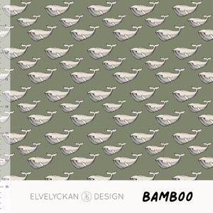 Elvelyckan  - Mini whale green 013 - Bamboo €23 p/m