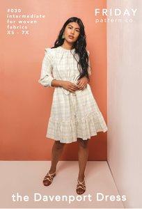 Friday Pattern Co. - Davenport Dress €19,95