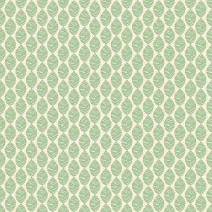 Monaluna - Foliage vert COTTON €23 p/m (GOTS)