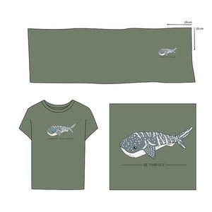 Elvelyckan  - Paneel Whale Shark Green €28,90 p/m