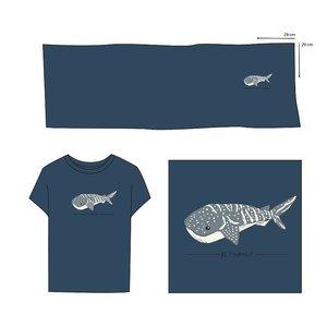 Elvelyckan  - Paneel Whale Shark Dark Blue €28,90 p/m